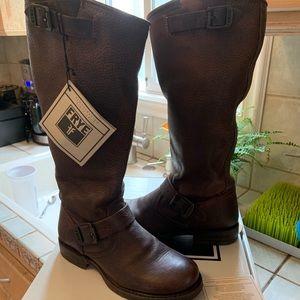 Frye Veronica Slouch Wide Calf Boot (like NEW!)